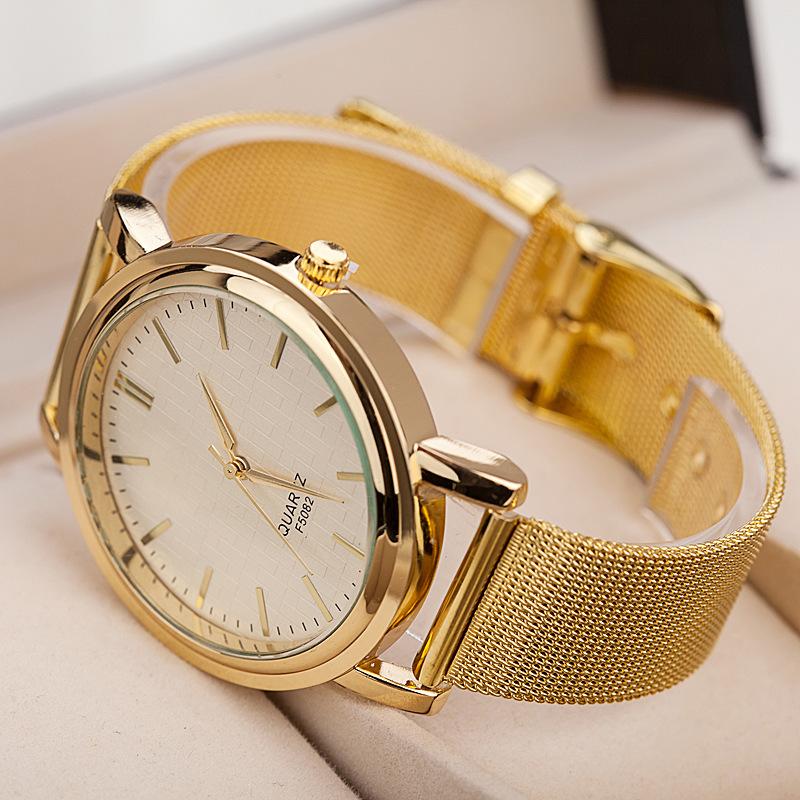 Hot Sale!!! High Quality Women Dress Watches Fashion Gold Band Top Luxury Brand Ladies Watch Marble Mirror Quartz Hand Clock AL3(China (Mainland))