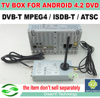 The DVB-T MPEG4  / ISDB-T / ATSC Digital TV Box for Android 4.2 or Android 4.4 DVD Player . The item don't sell separately