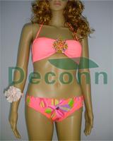2014 Bikinis Swimwear Women Bikini Hot V&s Pad Push Up Drop Shipping Good Quality High Diamond Swimsuit New Arrival!