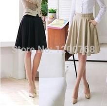Skirts Womens 2015 Spring Summer Plus Size Korea Style Skirt Casual Slim Pleated Skirts Skirts Female Fashionable (China (Main