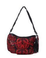 NEW SALE!national boho handbag flower pattern leather over the shoulder bag enthic tassel red bag women handbag wholesale FA0869