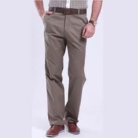 free shipping high quality men's pants , 2014 spring thin cotton men's straight pants , high quality men sumemr pants 40