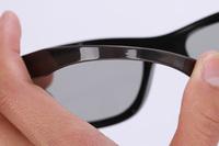2/lot Cheap Circular Polarized Passive 3D Glasses Soft Leg for Real D Master 3D 4D Cinemas  Passive 3D TV Free Shipping