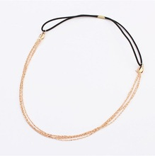 2014 summer new arrive all-match metal headband fashion women hair accessory
