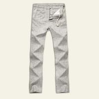 free shipping high quality men's pants , 2014 men's casual pants , zipper fly flat full length pants men 62