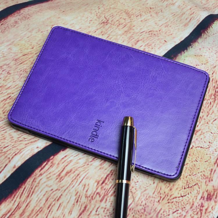 Магнит закрытие полиуретан кожа крышка чехол для Amazon Kindle 4 / 5 электронная читалка 8 цветов + экран протектор