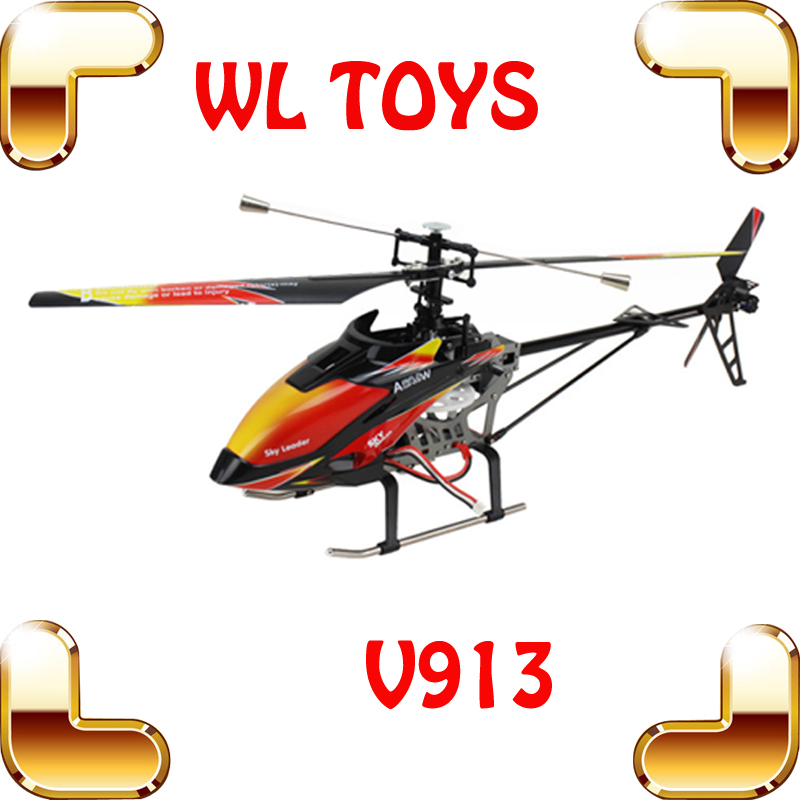 WLtoys V913 New Year Gift 80CM Big RC Helicopters Single Blade Remote Control Toys Helicoptero Electronic Toys LCD Controller(China (Mainland))