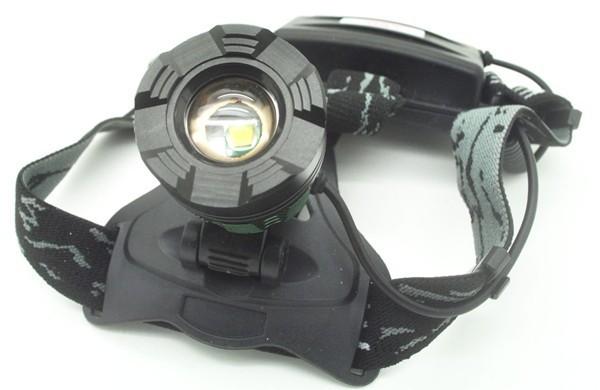 Налобный фонарь OEM xm/l2 2 * 18650 Zoomable 2000Lm T6 CREE CREE XM-L2