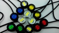 new 10pcs 2.3mm  Car Tail LED DRL Daytime Running light source Eagle eye for  Brake car styling and parking light