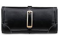 New arrive women's long wallet2014 hot selling pu leather wallet card holder women wallets lady purse