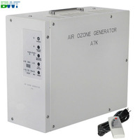 A7K 7 g/h portable air ozone geerator for hotel use come with remote control