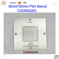New arrival! BGA Reballing 80mm * 80mm PS4 Stencil CXD90026G 0.55mm