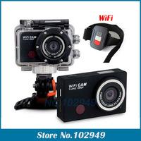 2014 sport camera 5.0MP Full HD 1080P Underwater Action Camera CAM WiFi DV Camcorder WDV5000 Waterproof camera Mini DV