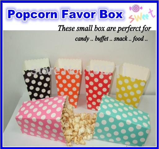Ücretsiz kargo 720 adet lot başına puantiyeli mini popcorn