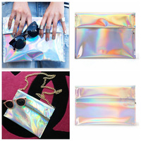 Hot selling hologram day clutches,fashion 2014 women evening bags,summer silver color messenger bags,PU evening bags