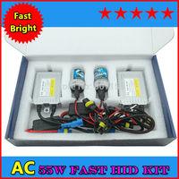Fast Starting Car Xenon H1 H7 H11 9005 9006 12V55W F5 fast HID kit Slim Ballast Kit HB3 HB4 all car HID xenon kit high quality