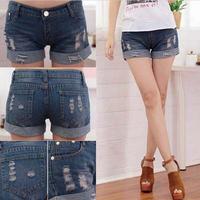 Promotion lady Denim Shorts,(S,M,L,XL,XXL)Fashion Ladies Jean Shorts,Denim Pants with Casual Short Hot Sale drop Shipping LS442