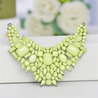 2014 Fashion short  flower necklace XL597