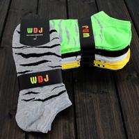 2014 new summer Men's cotton boat socks ship socks sprot socks free shipping For US size 7-9.5 5colors average DZ006