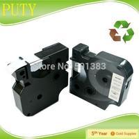 Dymo D1 tape 12mm black on white 45013