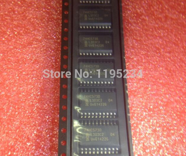 Free shipping 50PCS 74HC573D 74HC573 HC573 IC LATCH OCTAL D 3STATE 20SOIC Best quality(China (Mainland))
