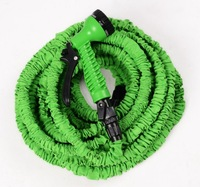 Free Shipping Latex 24pcs 100FT  Expandable Hose for Garden water hose with Spray gun nozzle  magic pocket hose