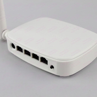 Roteador Wireless Wifi Repeater routerTenda N150 Portuguese firmware 150Mbps 4 ports 5Dbi