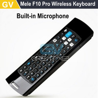Mele F10-pro F10 Pro F10PRO 2.4GHz Wireless Keyboard Air Mouse Voice IR Remote Control For Android TV Box