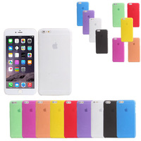Hot Sell 0.3mm Ultra Thin Slim Matte Frosted Transparent Clear Soft PP Cover Case Skin for iPhone 6 4.7 inch 100pcs/lot