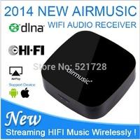 1pc Original AirMusic Airplay DLNA(DMR) Music Radio Receiver Transmitter iOS Android Airmusic WIFI Audio Receiver Sound Mate