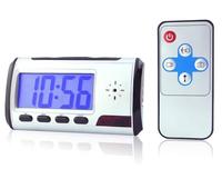 Free shipping Digital Clock Hidden Camera mini DV DVR USB Motion Alarm Digital Camcorders 5pcs/lot