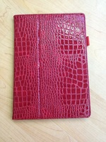 Fake Crocodile PU Leather Stand Case Hard Cover for  Asus MeMO Pad FHD 10 ME302C