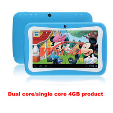 Free Shipping 7 inch Dual Core Children Kids RK3026 PAD Android 4 2 MID Dual Camera
