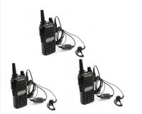 Free Shipping!3 pcs/lot Pofung UV-82 UHF+VHF Dual Band 5W Walkie Talkie Ham Two-way Radio FM Portable