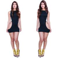 2015 New Arrival Celebrity Dress Hot Selling Sexy Women Summer Dresses Nightclub Wear Sexy Clubwear  Black Sexy Bodycon Dress
