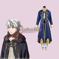 Free Shipping Customized Game Cosplay Costume Fire Emblem Awakening Robin Cosplay Costume