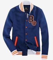 free shipping 2014 Mens Varsity Jackets Baseball College Coats NEW Student Sports Coat 78