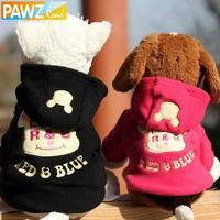 Free Shipping Dog Cute Cartoon Pet Clothes Dog Hoodie Warm Puppy Coat cute Santa pet clothing warm winter small medium dog