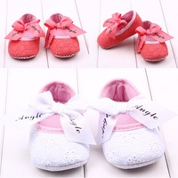 Free shipping 2014 High quality pink girls boy  casual soft outsole infant shoes baby children shoes 0-3 year old A5-5