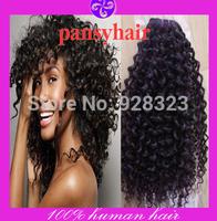 Hot selling Afro kinky curly hair Funmi Hair Brazilian Virgin Hair Weaves Human Hair Weavon