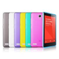 """2PCS/Lot ,Xiaomi Redmi Note Transparent  Soft Case For Xiaomi Hongmi Note Red Rice Redmi Note 5.5"""" Inch  +Free Screen Protector"""