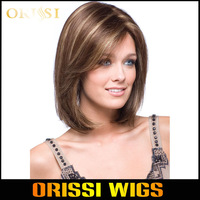 2014  Cheap Straight  Heat Resistant Synthetic Short Bobo Hair Wigs for  Women Blonded Wigs perucas Cosplay Wigs