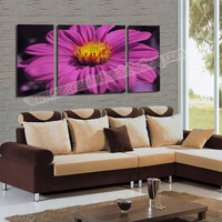 Canvas Painting 5 Piece Canvas Art Flower Painting for Living Room Canvas Prints Artwork Wall Decor-- Modern Decorative Picture