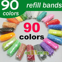 Wholesale Top Selling Fun Loom Rubber Bands Mini Loom Bands