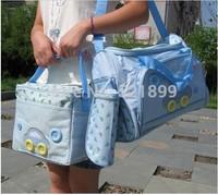 4pcs/set 2014  Multi Function Baby Bag Carters Diaper Bag