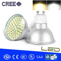 10pcs/lot GU10,E27 6w LED Light Spotlight Bulb Lamp 3528SMD 80 LED Spot Light  Warm white/Cold white 220V