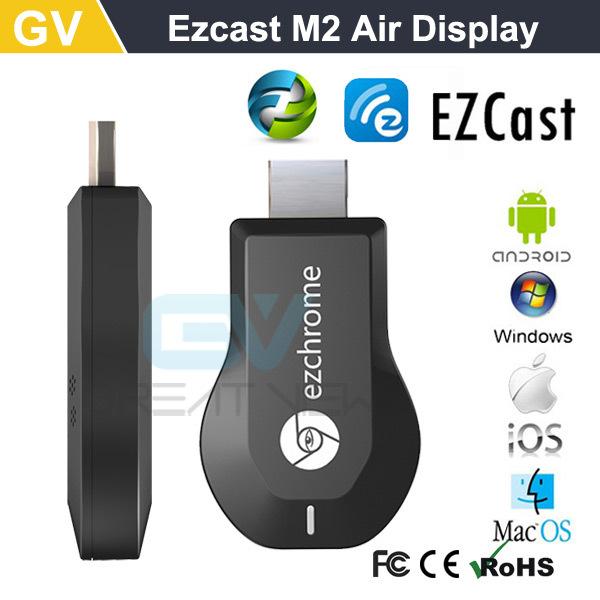 5pc original ezCast M2 Miracast Dongle TV stick DLNA Miracast Airplay MirrorOP better than chromecast for windows ios andriod(China (Mainland))