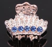 Free Shipping!2014 new 20pcs/lot Fashion Crystal Small Hair Clips Women Rhinestone Mini Hair Claws Hair wedding Accessories