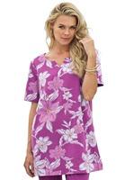 3XL-8XL Women Floral Print T-shirt Casual Ladies Tee Blouse Top Plus Big Large Size Oversize 4XL 6XL XXXXXL XXXXXXL 2014 Summer