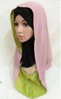 (free shipping)muslim chiffon hijab ,new style ,muslim shawl 10colors